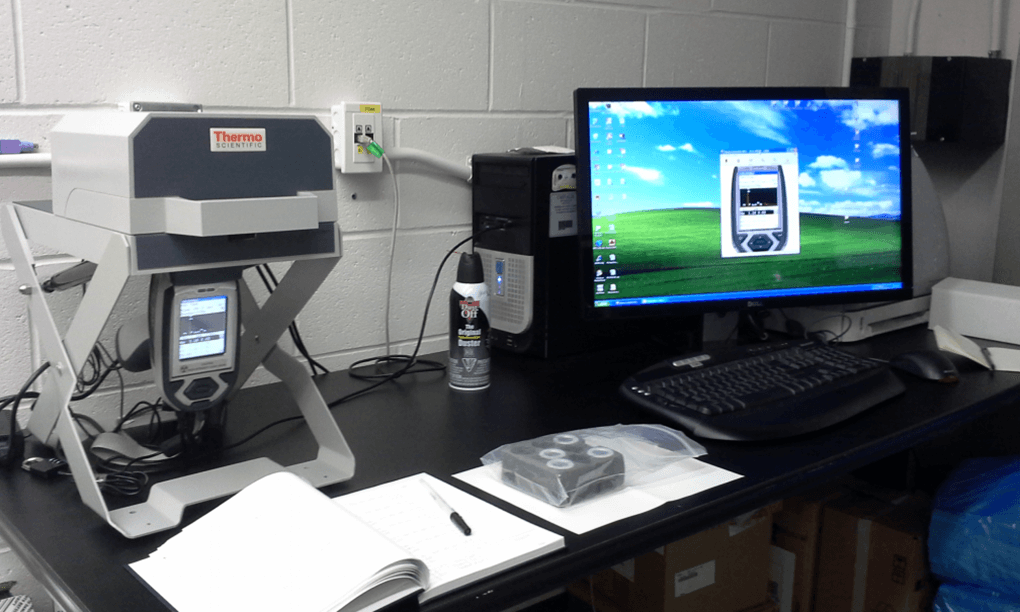 ThermoFisher Niton XRF XL3 Benchtop