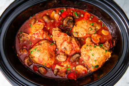 chicken slow cook